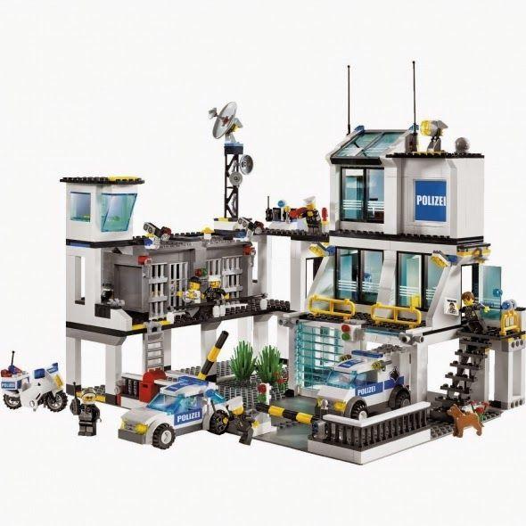lego police headquarters 7744 instructions