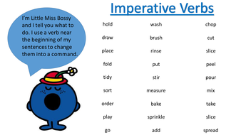 bossy words for instructions