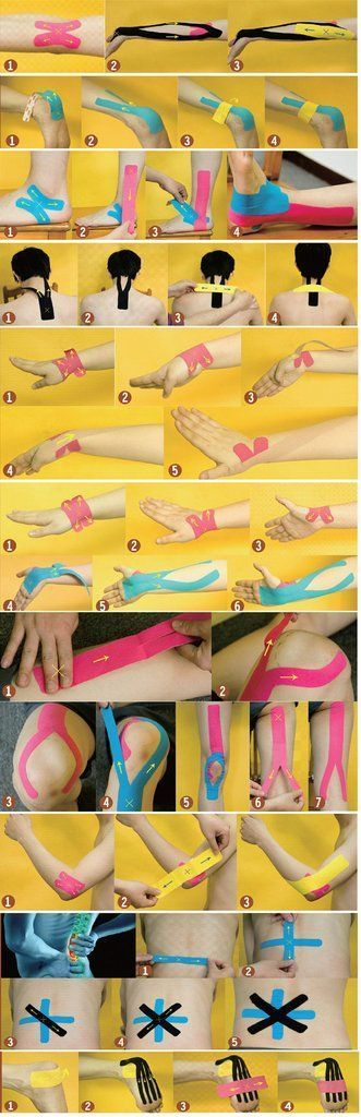 rock tape knee instructions