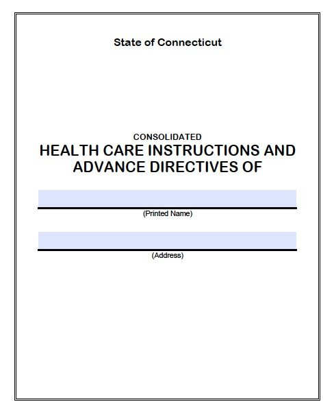 health care directive treatment instructions