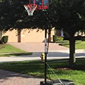 spalding portable basketball system 44 instructions