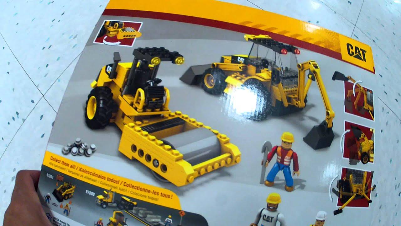 mega bloks construction set instructions