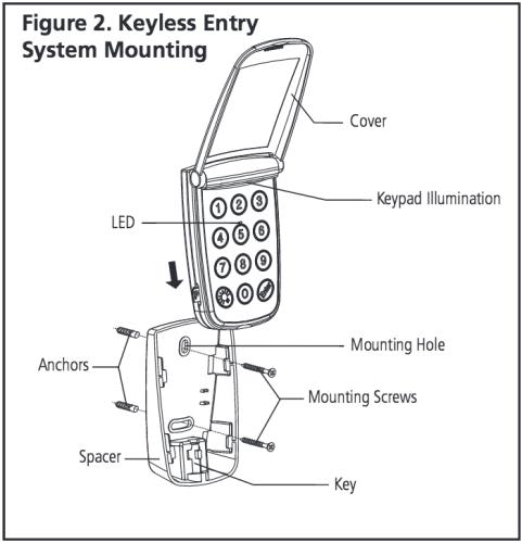 ford keyless entry keypad instructions