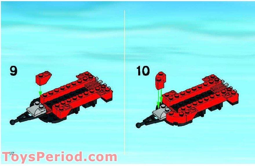 lego atlantis neptune carrier instructions