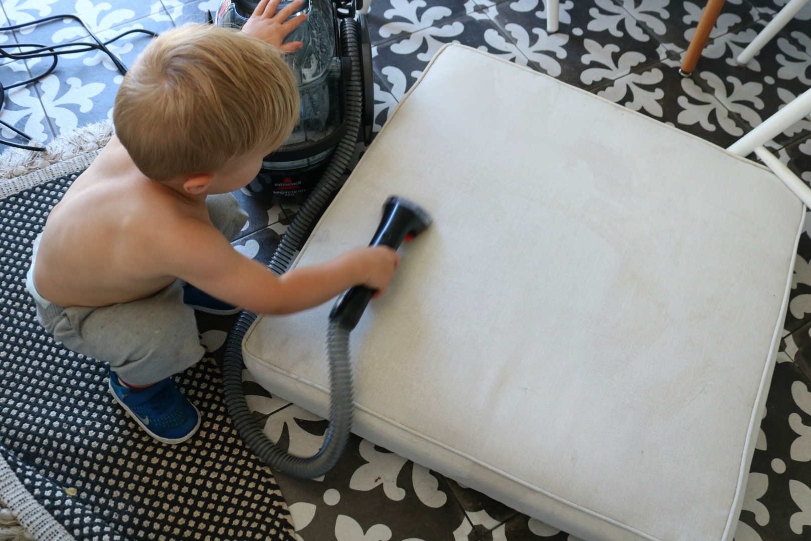 little green carpet cleaner instructions