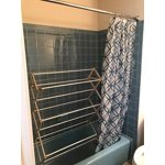 mainstays easy hang shower rod instructions