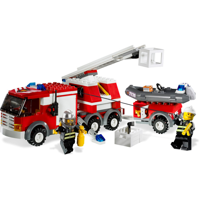 duplo fire truck instructions