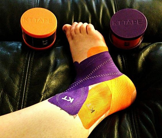 kttape com instructions ankle