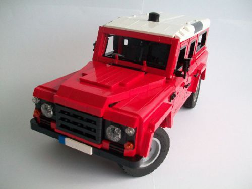 lego land rover defender instructions