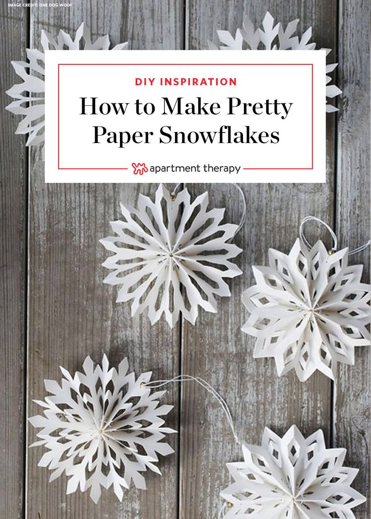 3d paper snowflake instructions
