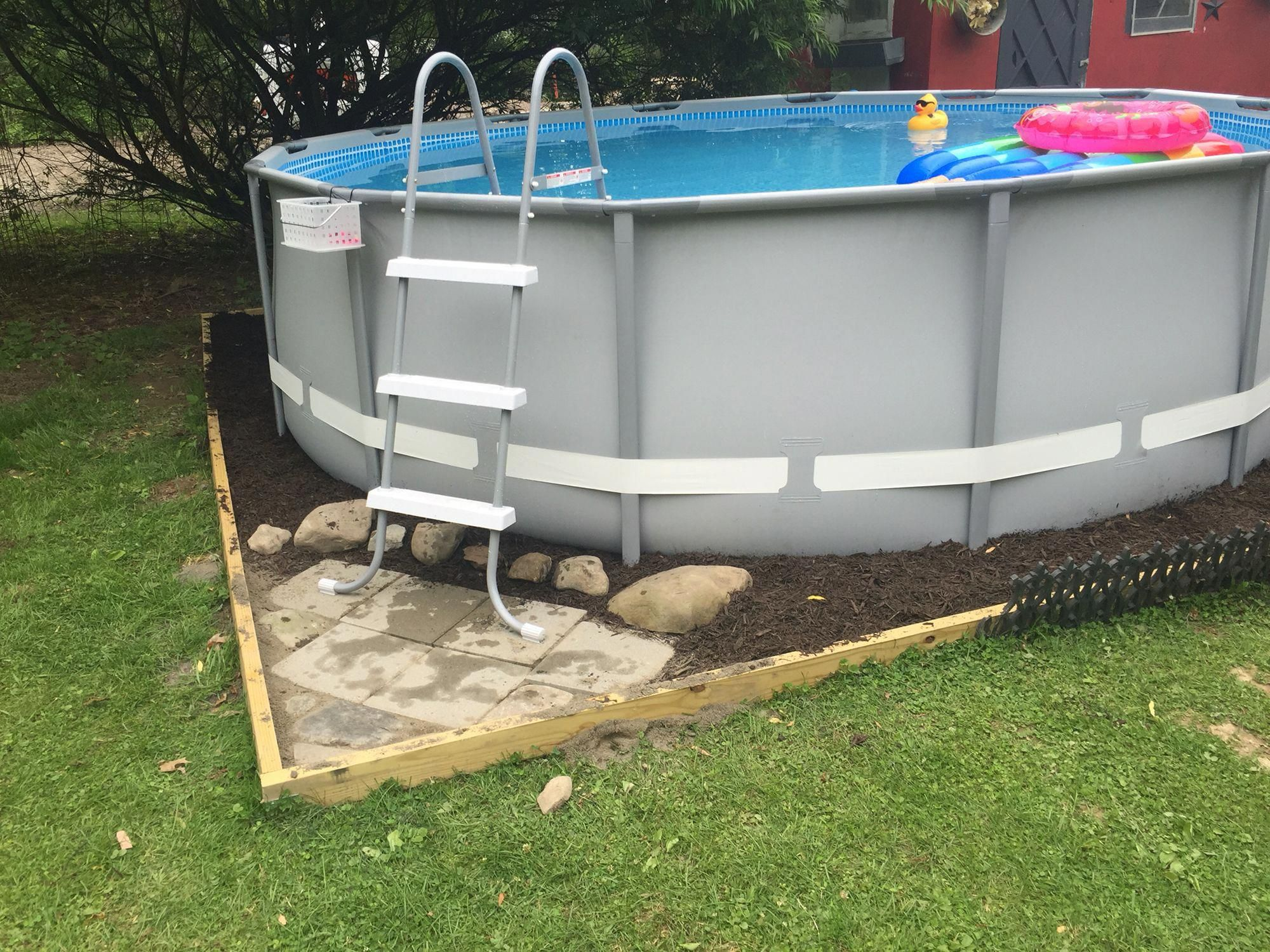 intex above ground pool instructions