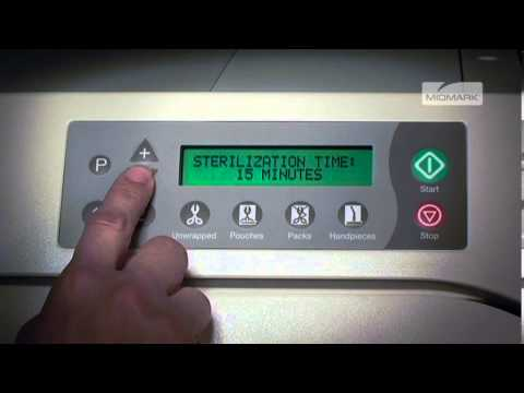 midmark m9 ultraclave cleaning instructions