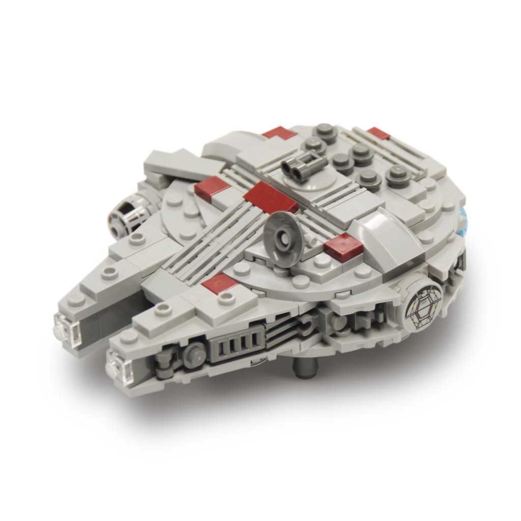 lego mini millenium falcon instructions