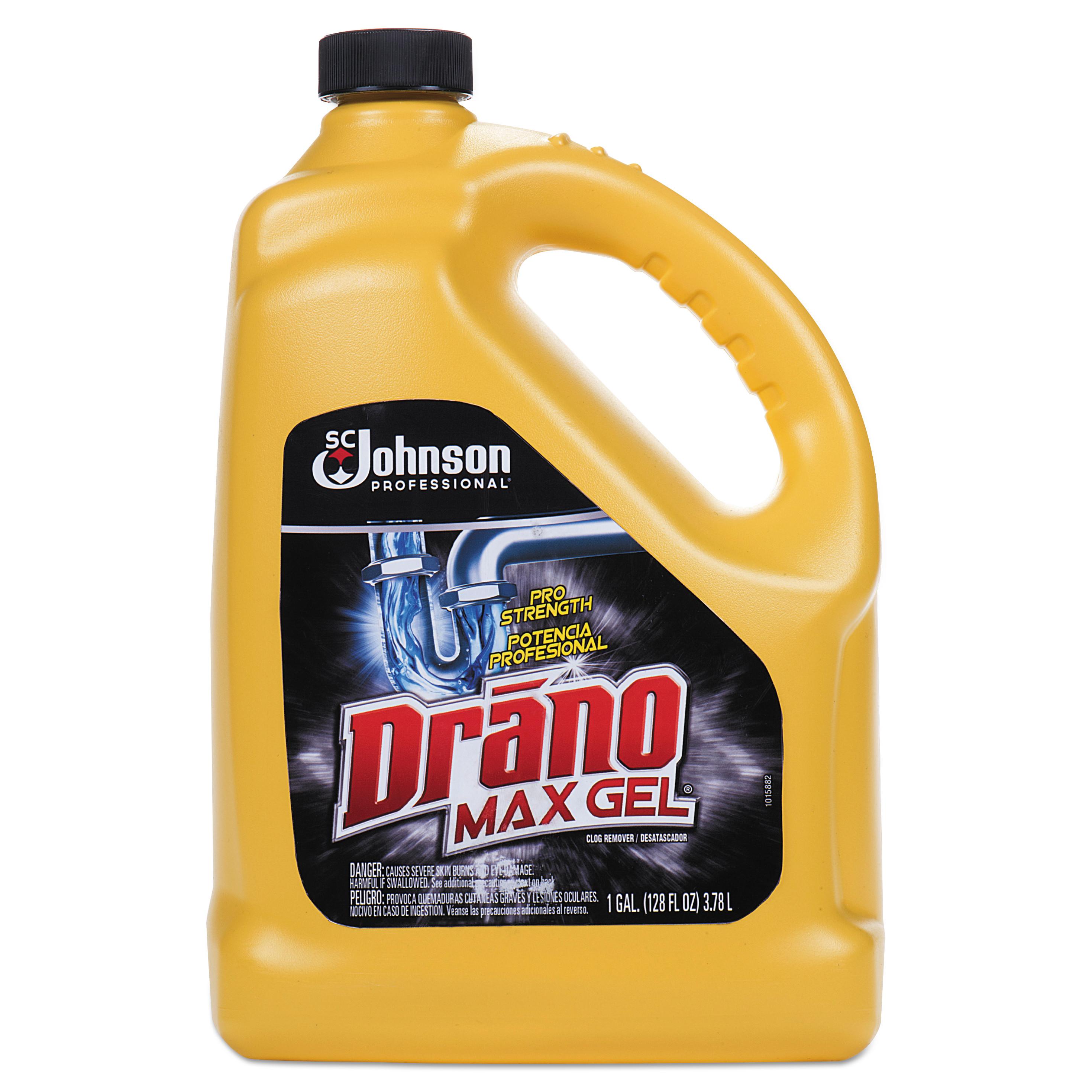 drano max gel instructions
