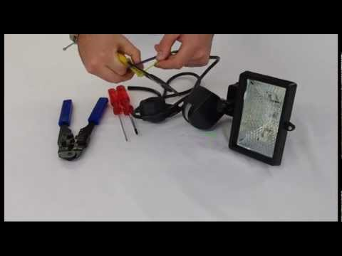 motion detector wiring instructions