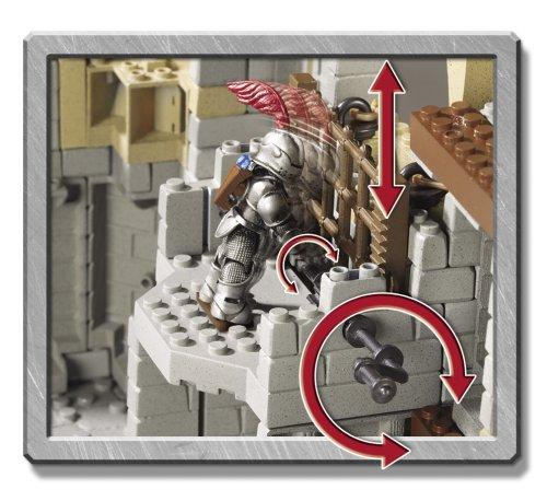 mega bloks king arthur battle action castle instructions