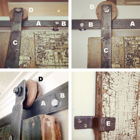 installation instructions for barn door hardware