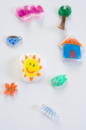 shrinky dink oven instructions