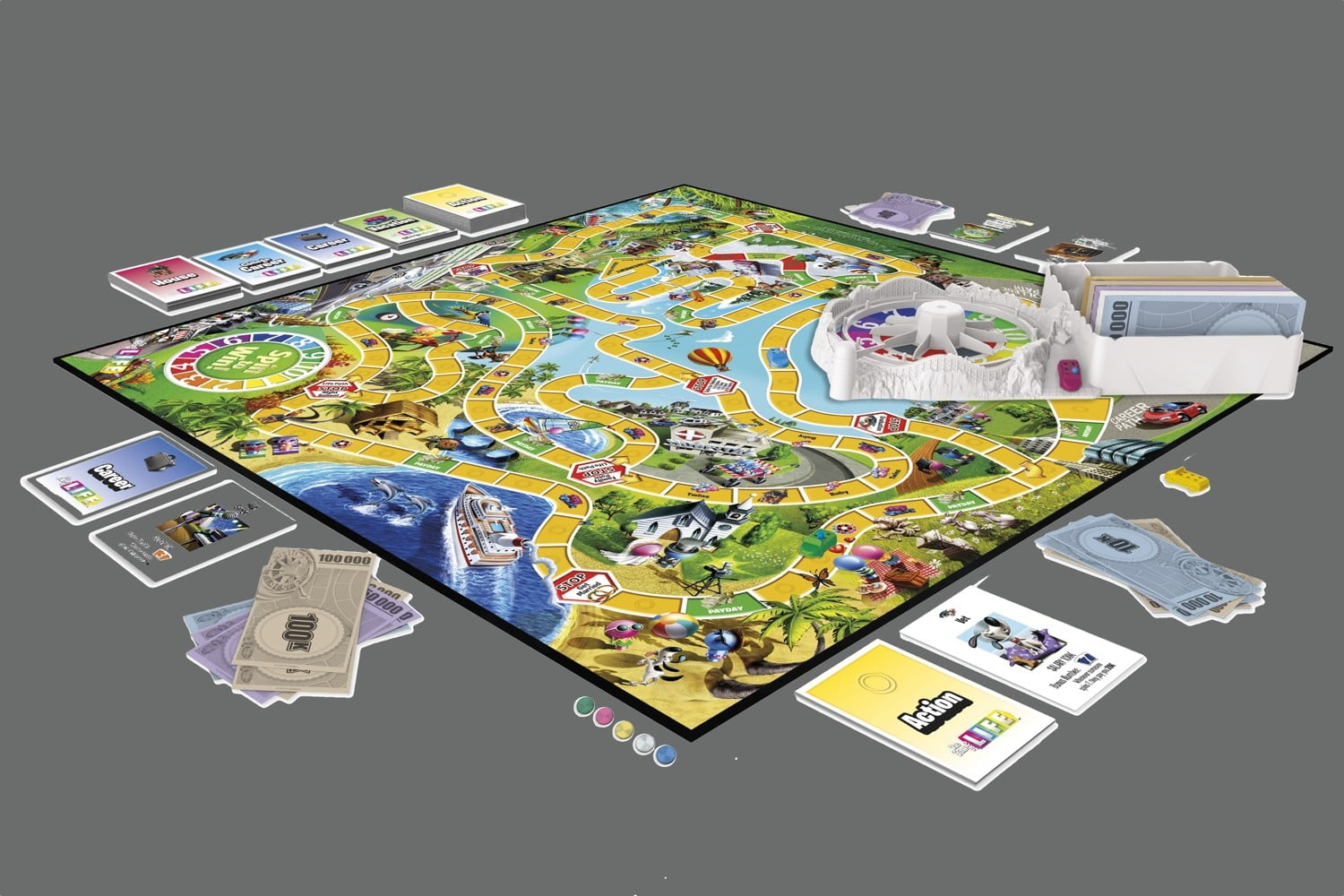 hasbro game of life junior instructions
