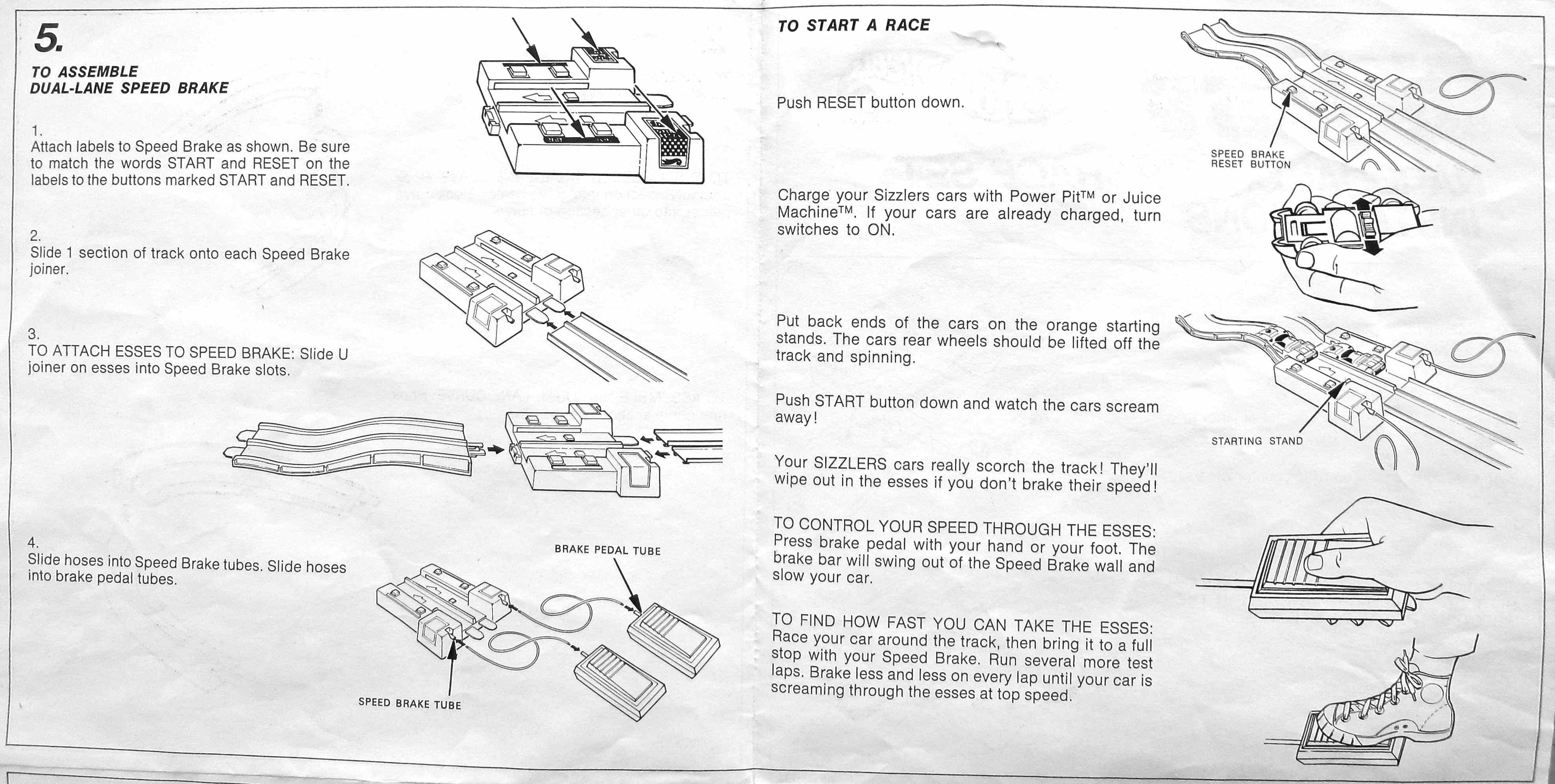 hot wheels set instructions