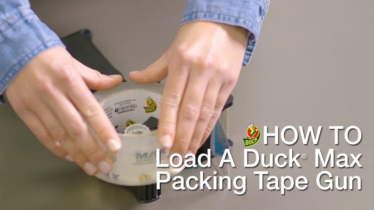 duck tape dispenser loading instructions