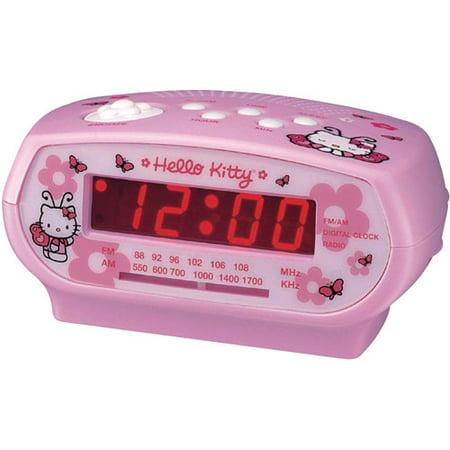 hello kitty clock radio instructions