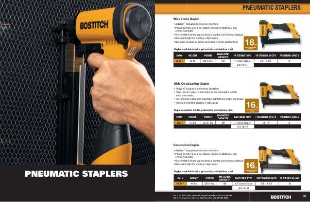 stanley bostitch stapler instructions