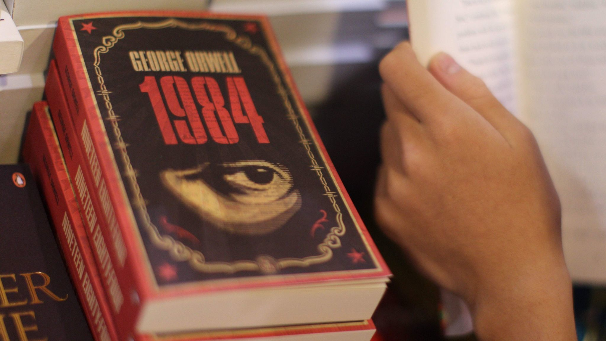 1984 wasn t supposed to be an instruction manual