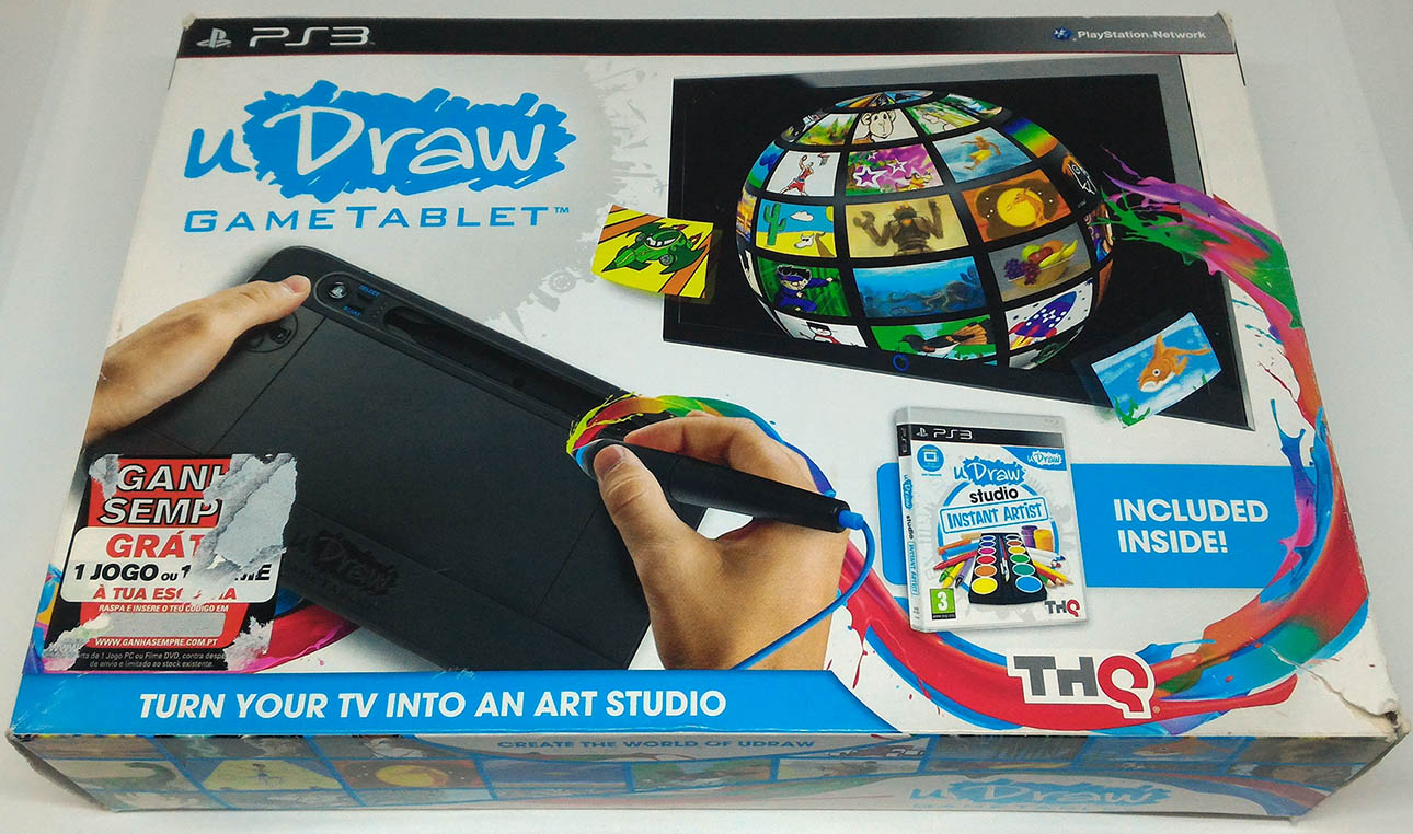 udraw game tablet ps3 instructions