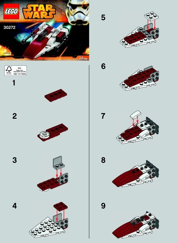 lego star wars 75040 instructions