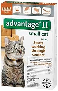 advantage ii small cat instructions