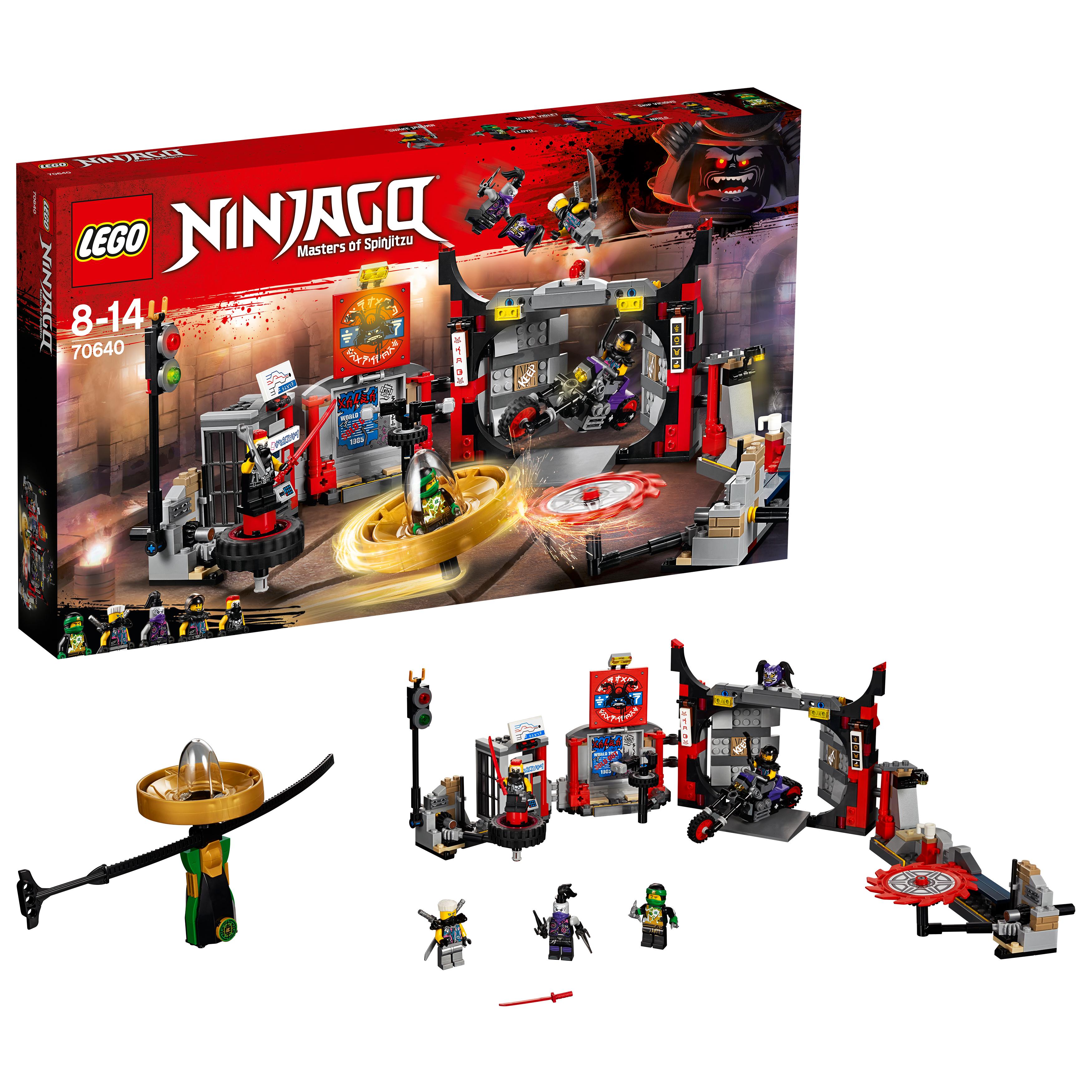 lego ninjago movie sets instructions
