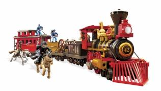 mega bloks train instructions