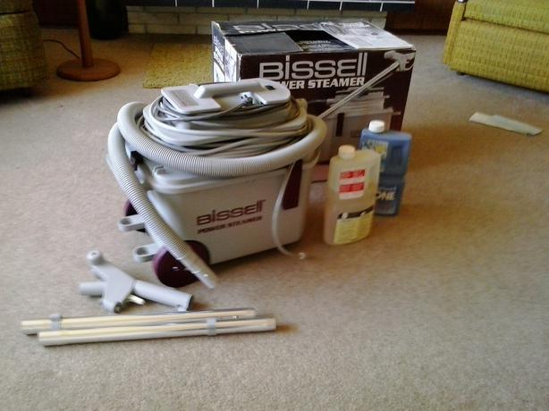 bissell steam cleaner instructions