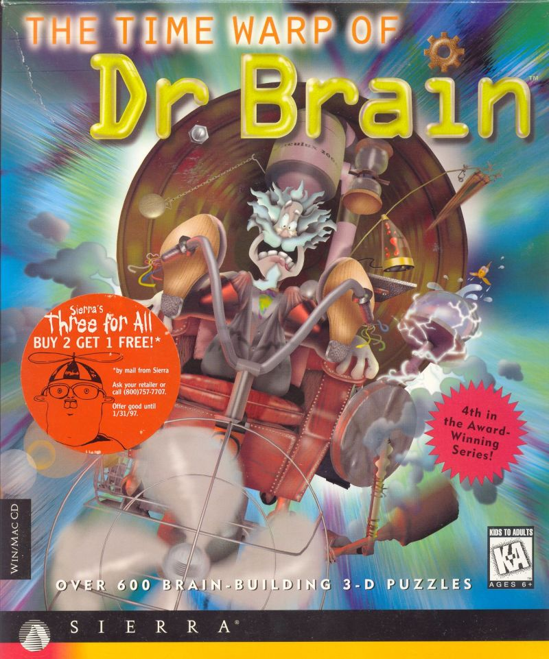 brain warp game instructions