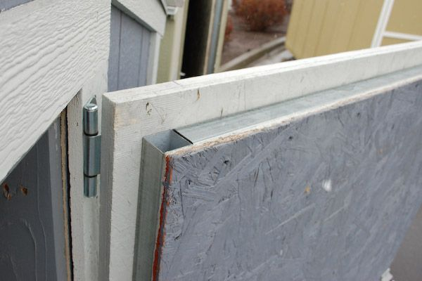 build a shed door instructions