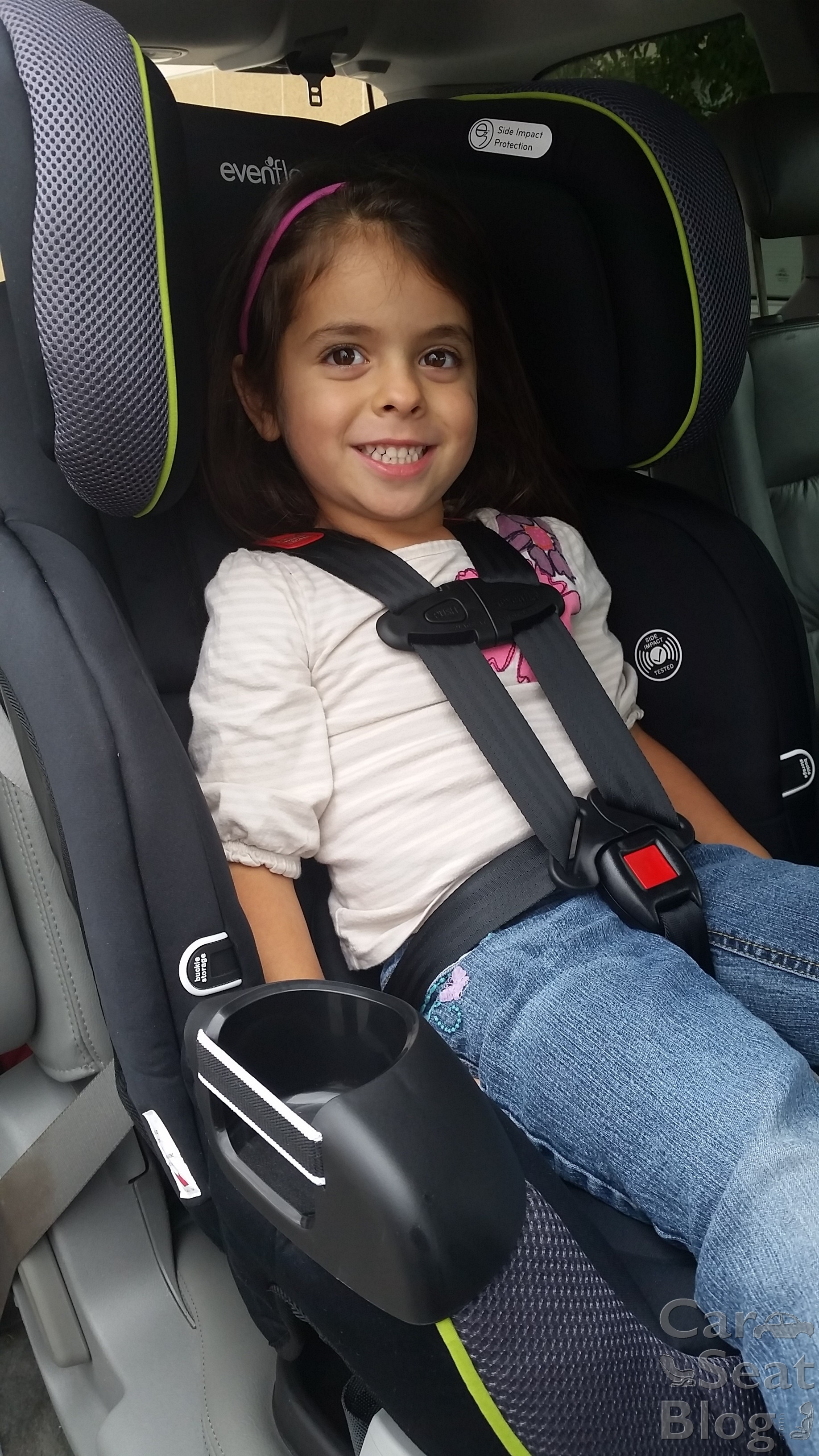 evenflo car seat belt instructions
