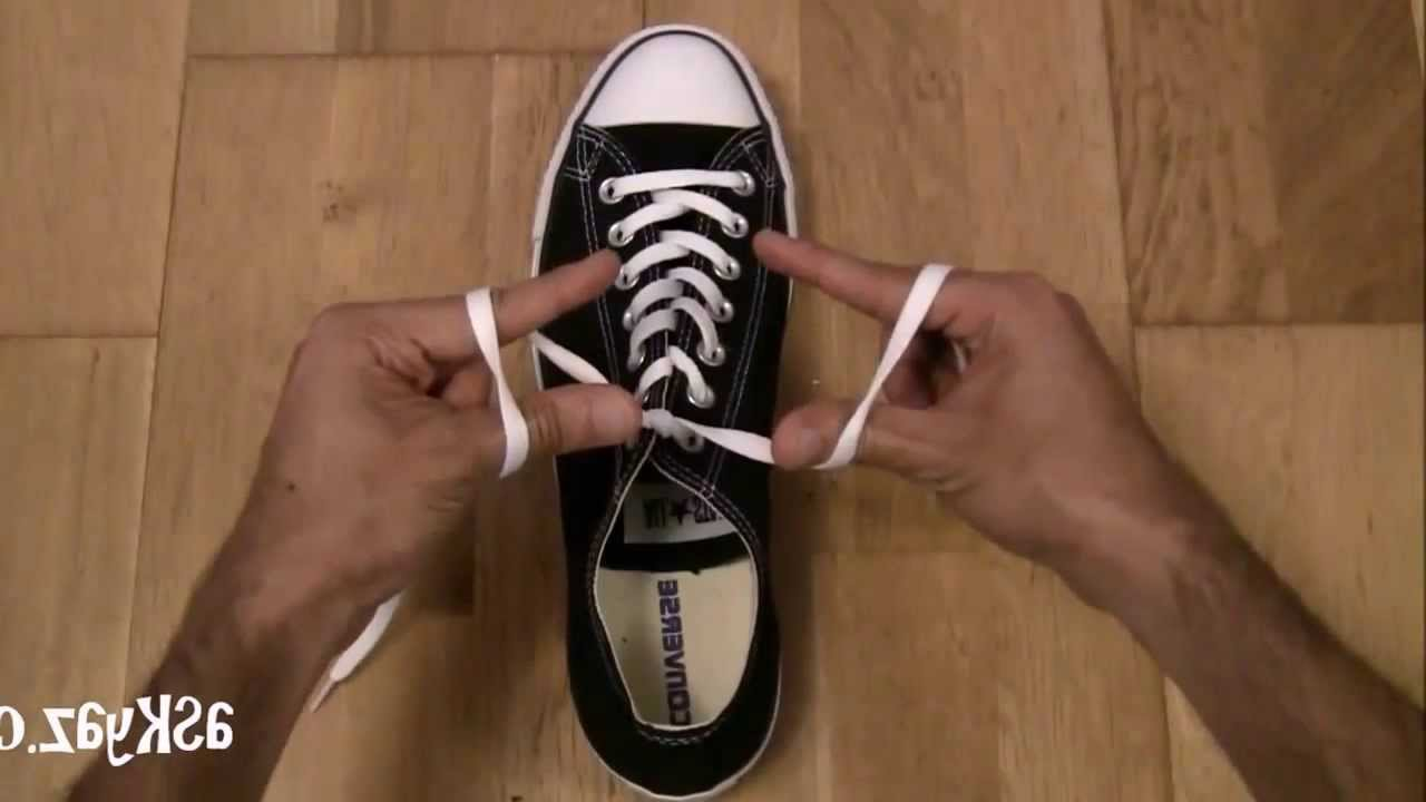 how to tie a shoe step by step instructions