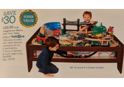 imaginarium mountain train set instructions