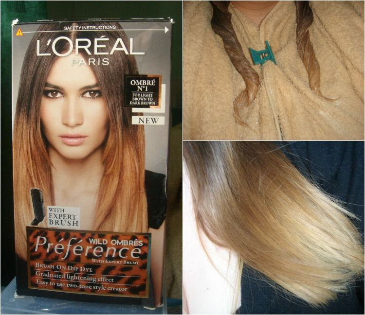 l oreal ombre touch instructions