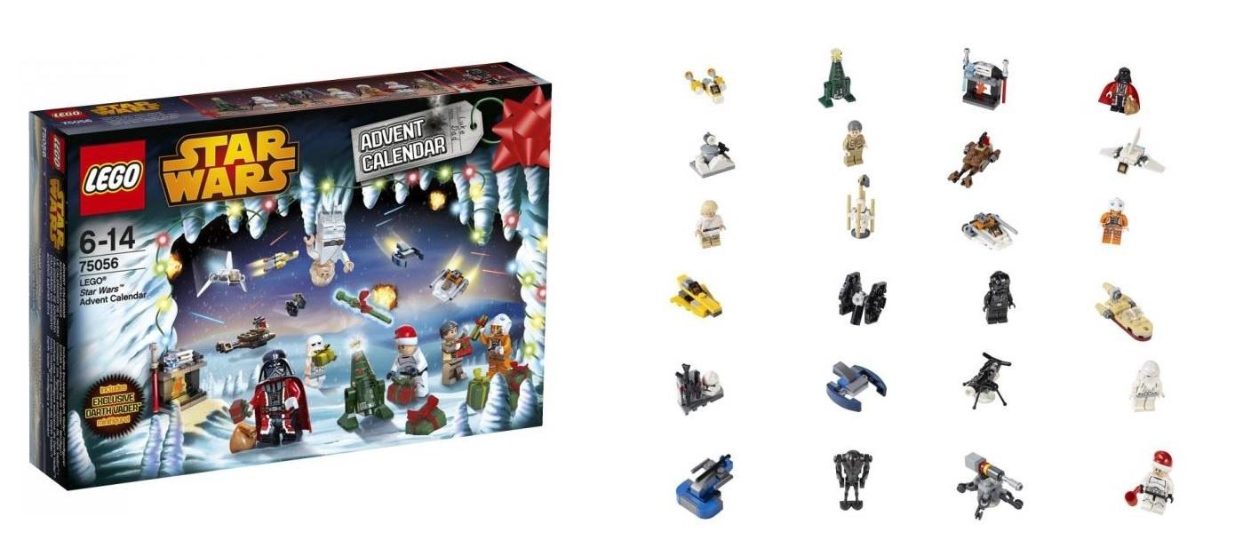 lego star wars advent calendar instructions