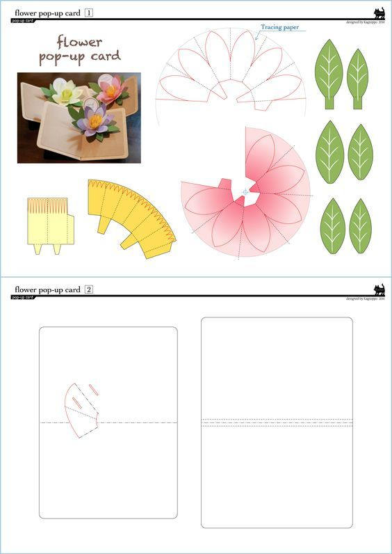 origami flower instructions pdf