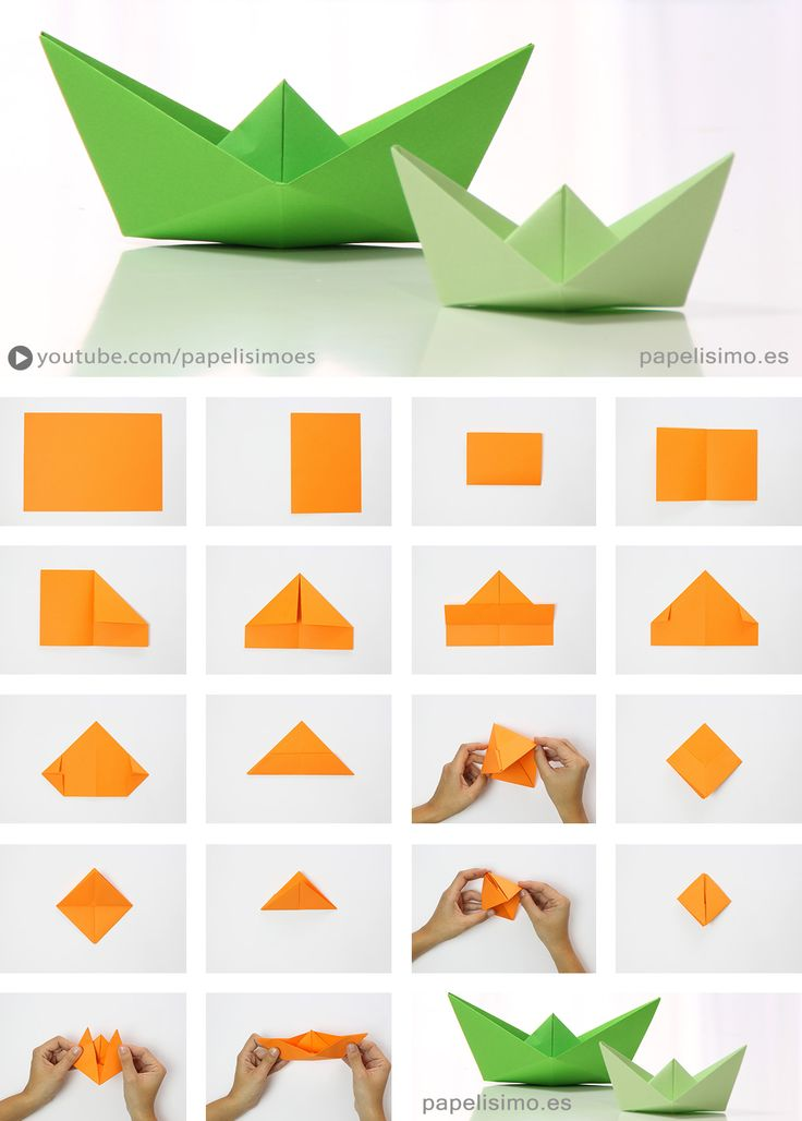 origami ship with mast instructions