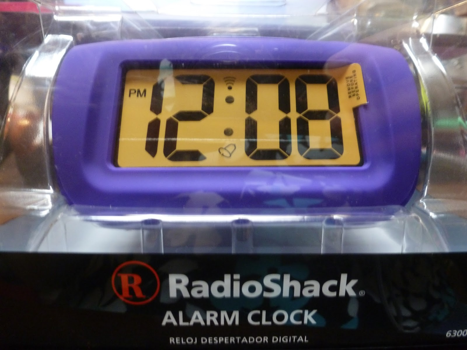 radio shack alarm clock instructions