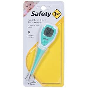 safety first 4 in 1 thermometer instructions