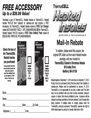 thermacell heated insoles instructions
