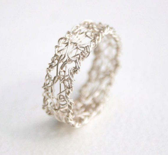 wire crochet jewelry instructions